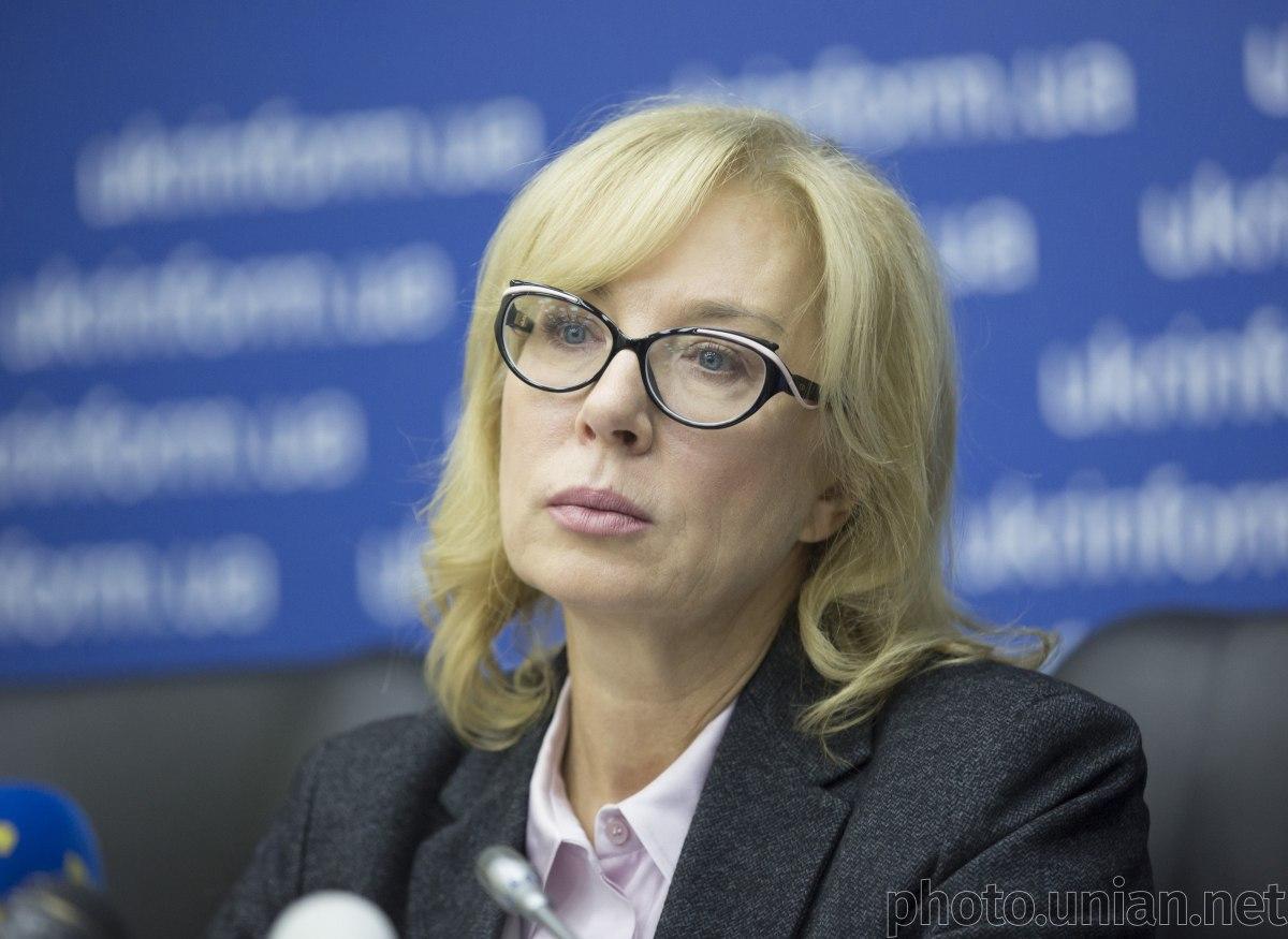 Денисова не стала сообщать российским СМИ, сколько людей помиловалЗеленский в рамках обмена / фото УНИАН