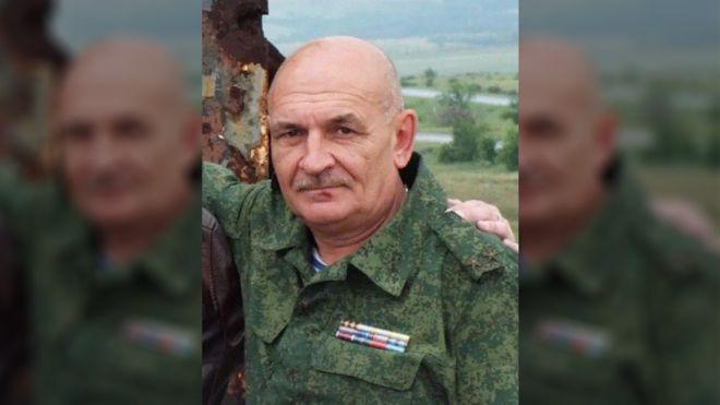 """Боевик Цемах мог быть тем, кто прятал """"Бук"""" после уничтожения MH17 /фото: VK /BBC русская служба"""