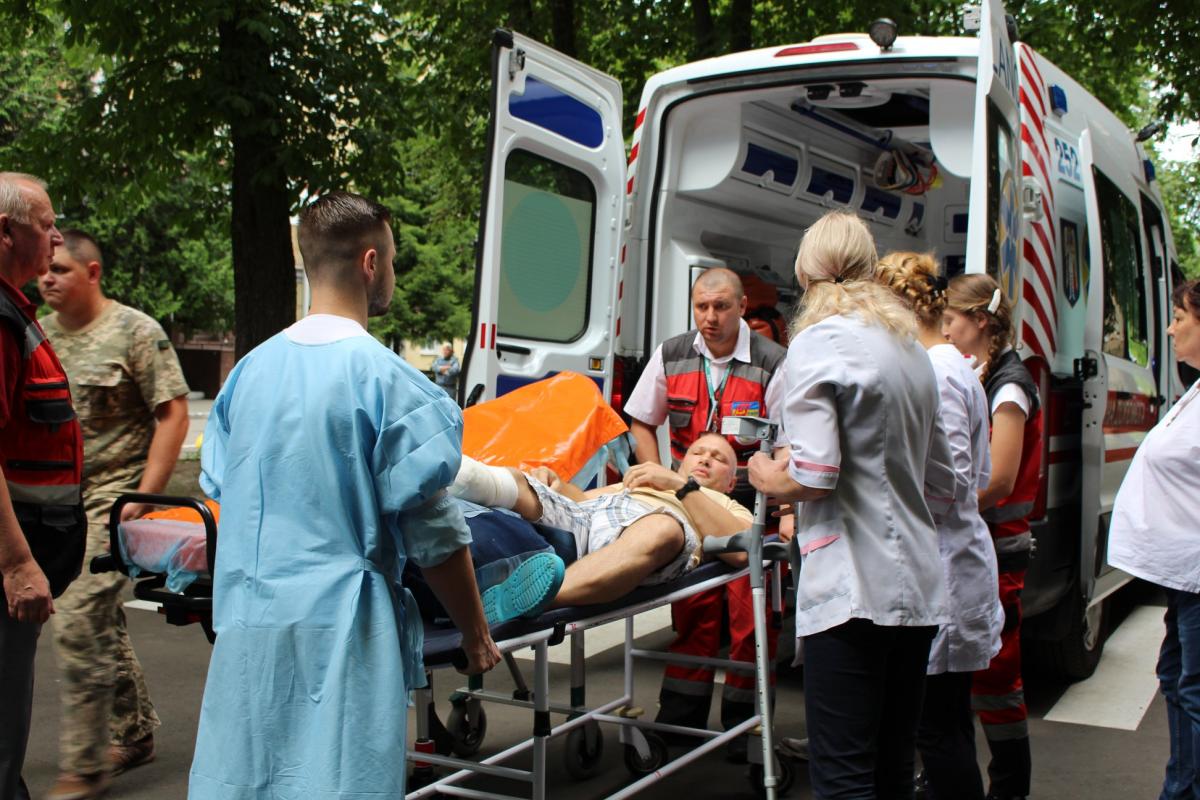 Некоторые военные получили ранения еще в 2018 году, другие – в последние недели / facebook.com/armyinform.com.ua