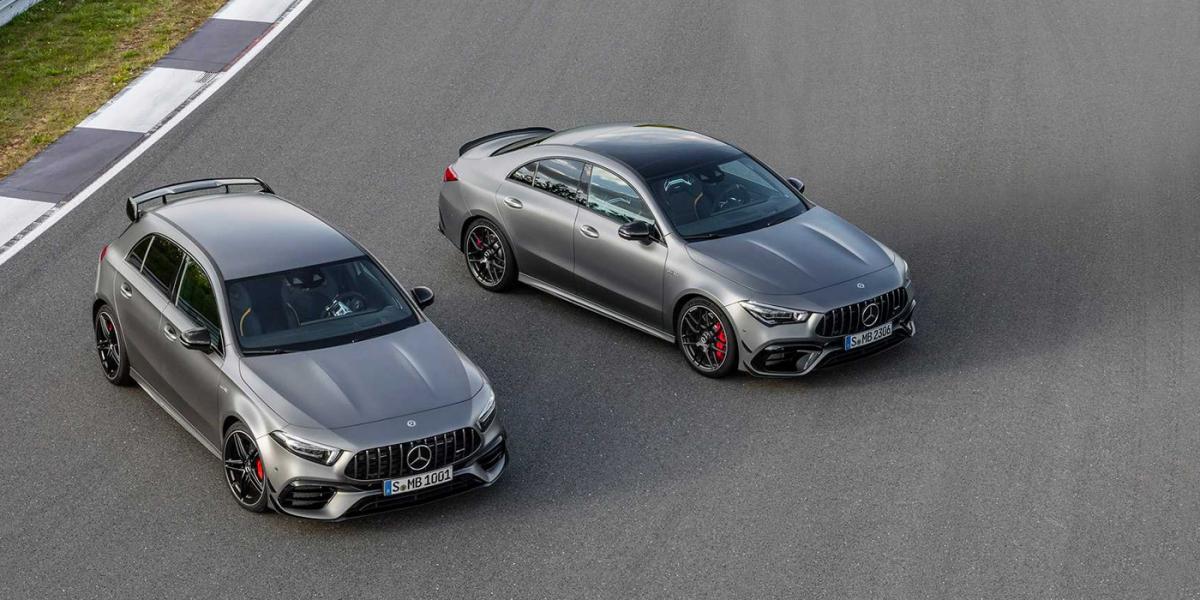 Mercedes представил хот-хэтч с самой мощной в мире «турбочетверкой» / фото Mercedes-AMG