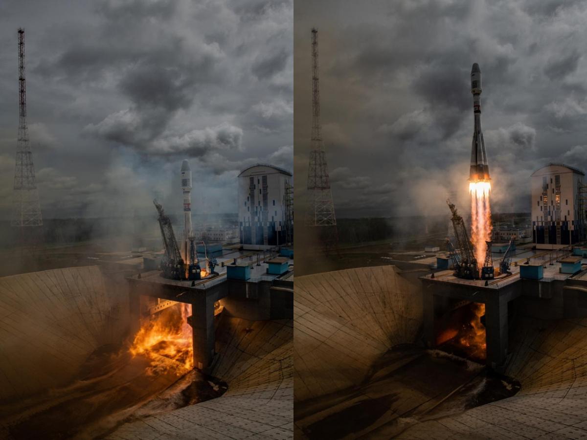 Всі початкові етапи польоту ракети-носія пройшли штатно / facebook.com/Roscosmos