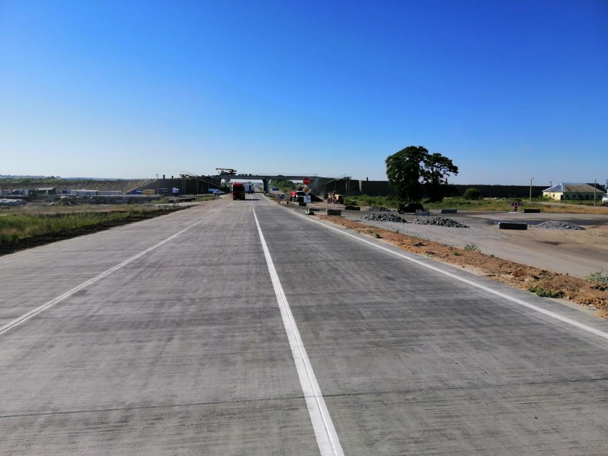 В Украине строят бетонные дороги / фото facebook/poltsad