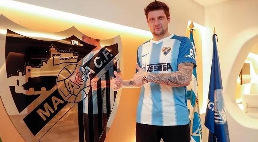 Селезнев не стал основным игроком Малаги / фото: Malaga CF