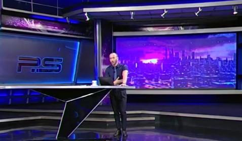 На грузинском ТВ ведущий обматерил Путина / скриншот