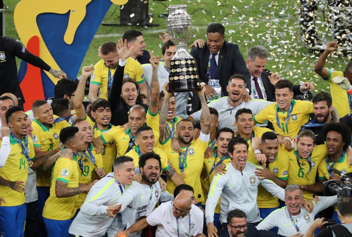 Сборная Бразилии / REUTERS