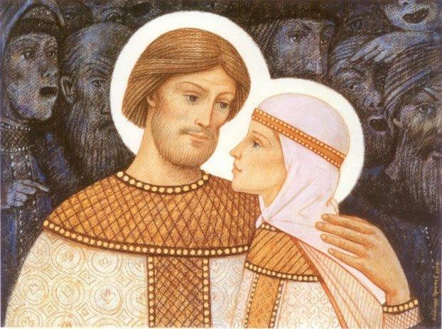 В День семьи чествуют Петра и Февронию