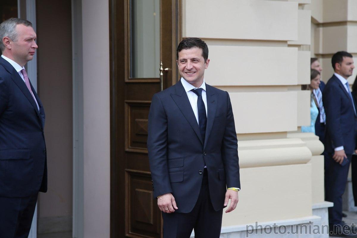 Зеленский проголосовал на парламентских выборах / фото УНИАН