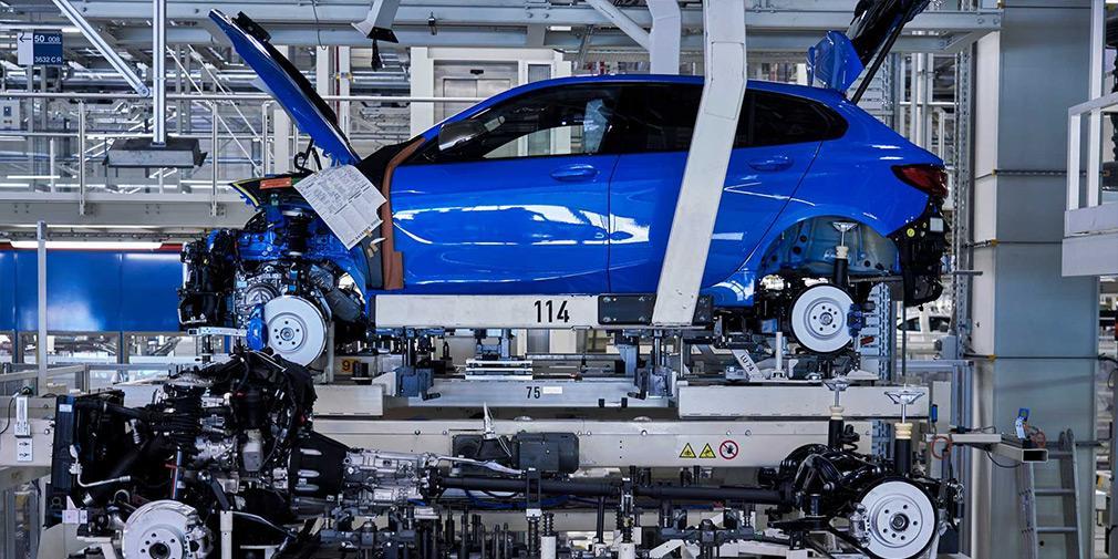BMW начала производство хэтчбека 1-Series нового поколения / фото BMW
