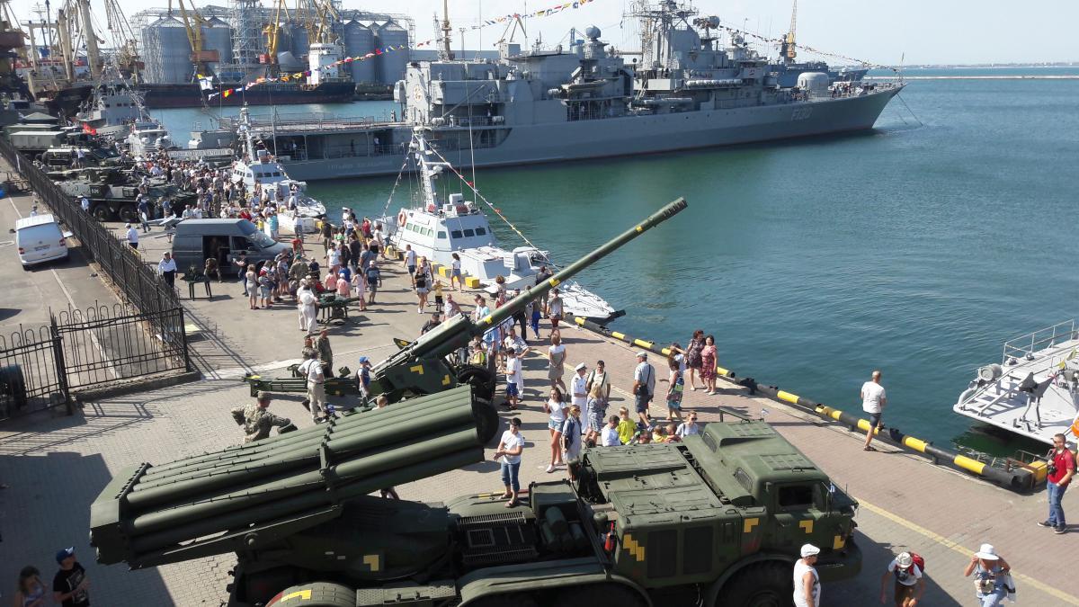 Україна відроджує військову силу в Чорному морі / фото УНИАН