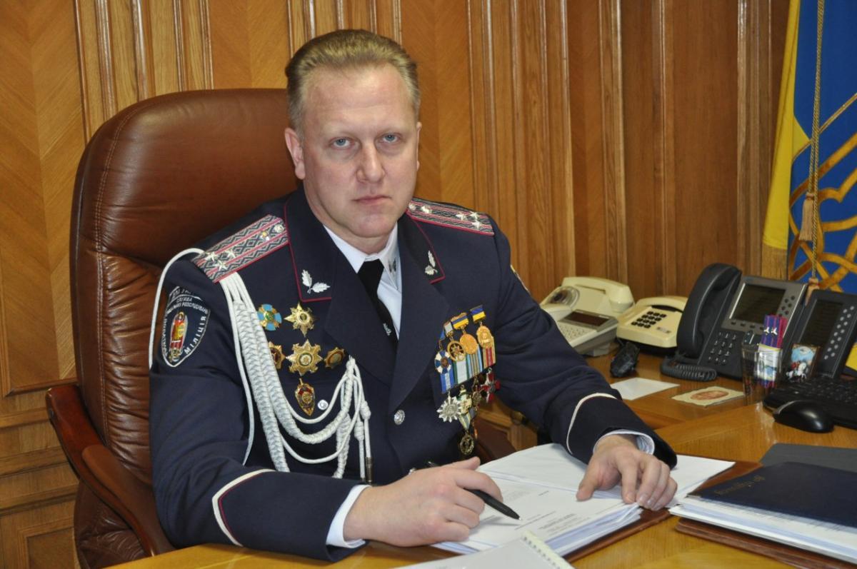 Перший заступник начальника Головного управління ДФС у Дніпропетровській області Сергій Пеньков