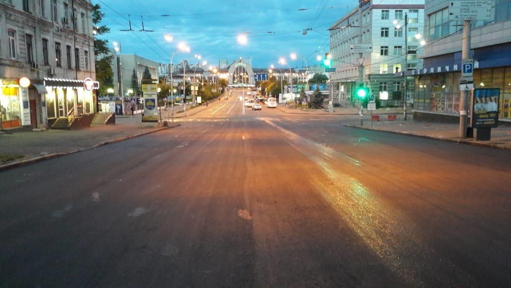 Коммунальщики завершили ремонт одной из центральных магистралей Киева / kyivcity.gov.ua