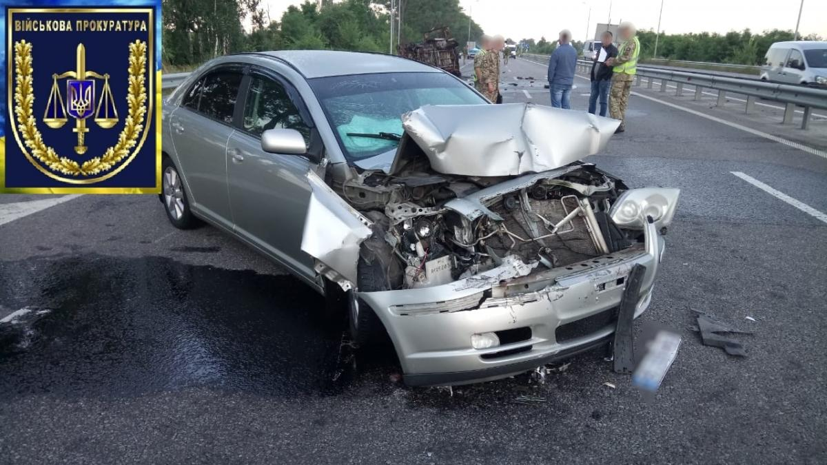 ДТП произошло на 64-м километре трассы «Киев-Чоп» / фото: прокуратура