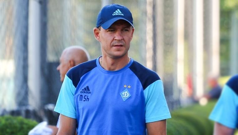 Максим Шацких входит в тренерский штаб Александра Хацкевича / фото: fcdynamo.kiev.ua