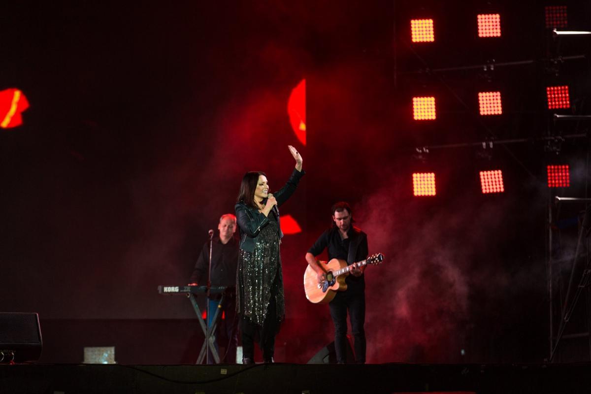 Почти 10 лет певица не давала сольных концертов в Украине / фото: Atlas Weekend