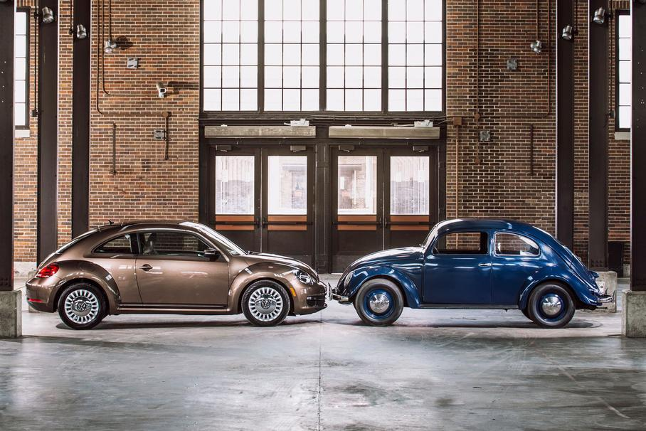 Volkswagen Beetle сняли с производства / фото Volkswagen