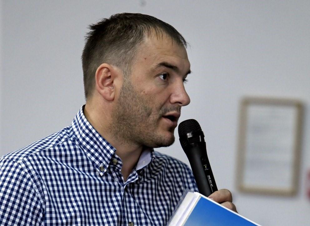 Ярослав Годунок не смог ответить на вопрос о своем криминальном прошлом/ УНИАН