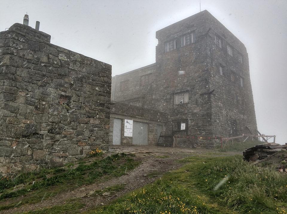 В Карпатах идет снег с дождем / фото: Черногорский спасательный пост