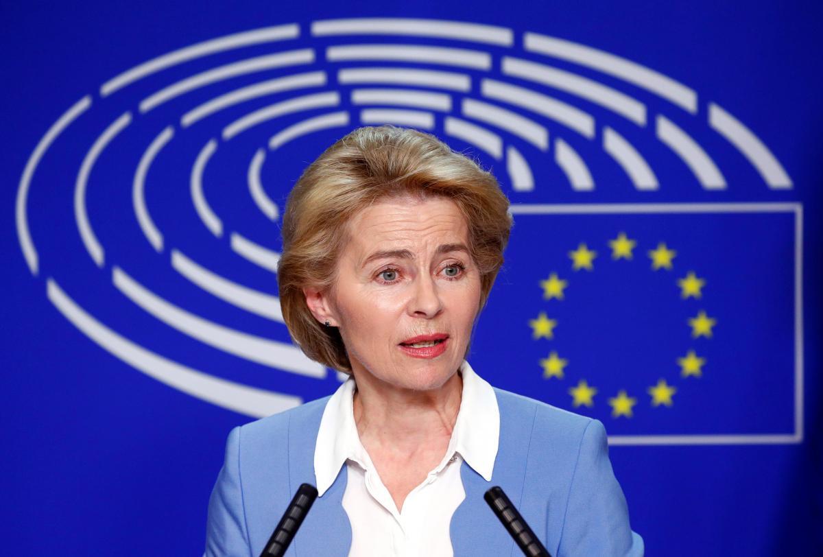 Урсула фон дер Ляєн не приїде в Україну на День Незалежності, і ніхто не знає чому/ фото REUTERS