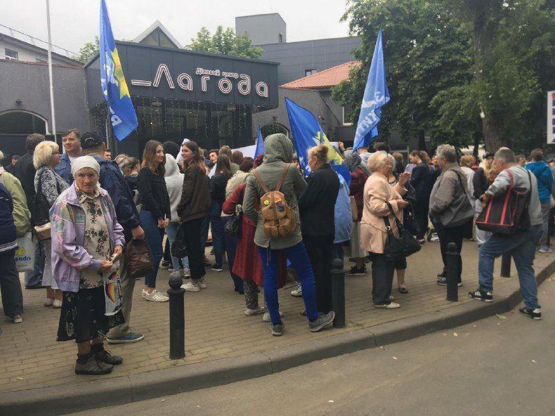 Под NewsOne происходит проплаченная акция в поддержку журналистов / фото ТСН.иа