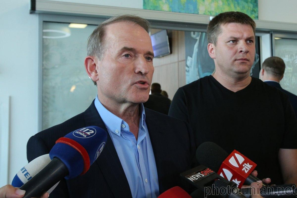 Медведчук не контактував з Володимиром Зеленським / фото УНІАН