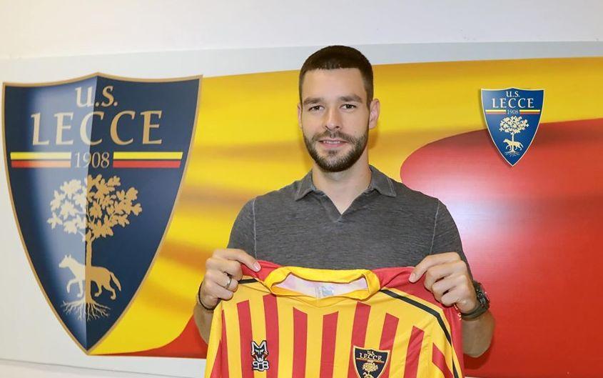 Євген Шахов буде грати в Серії А / фото: facebook.com/USLecceOfficia