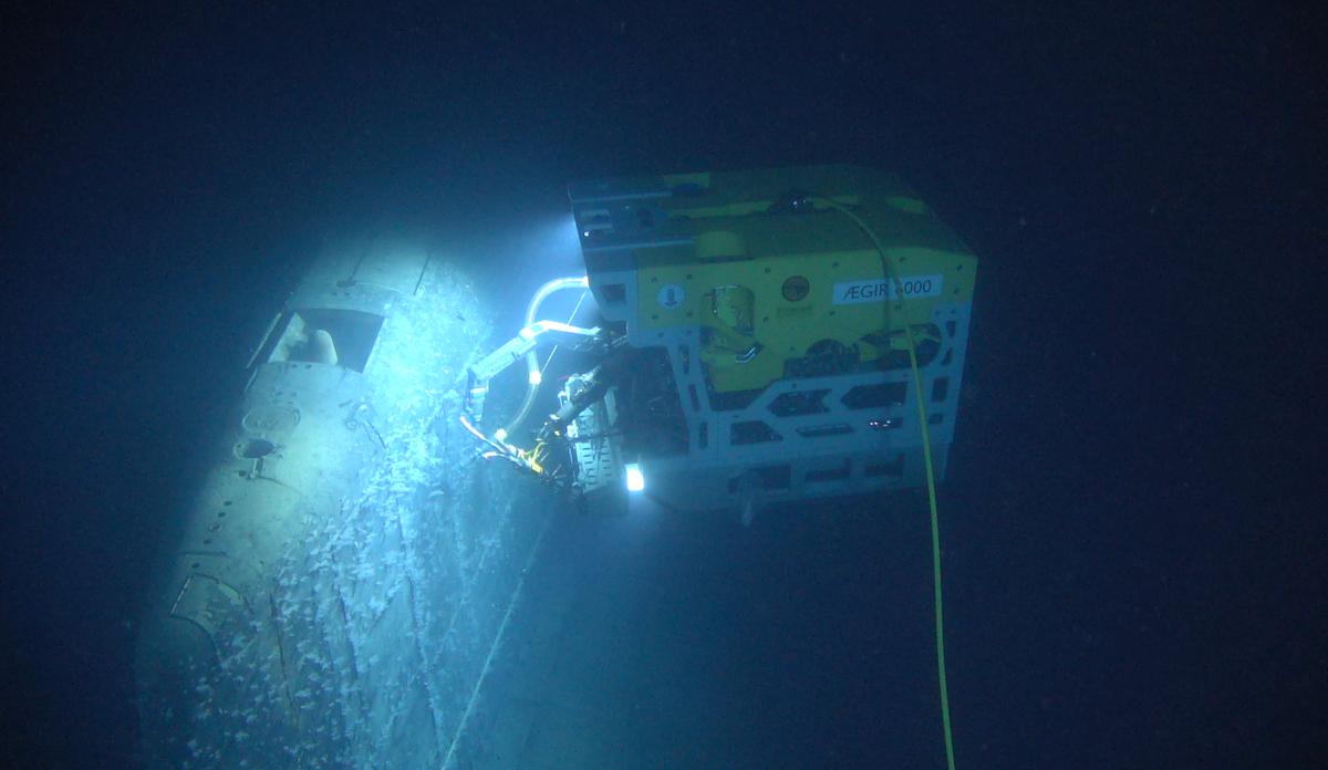 """Вчені Норвегії виявили витік радіації з субмарини""""Комсомолец"""" / IMR"""