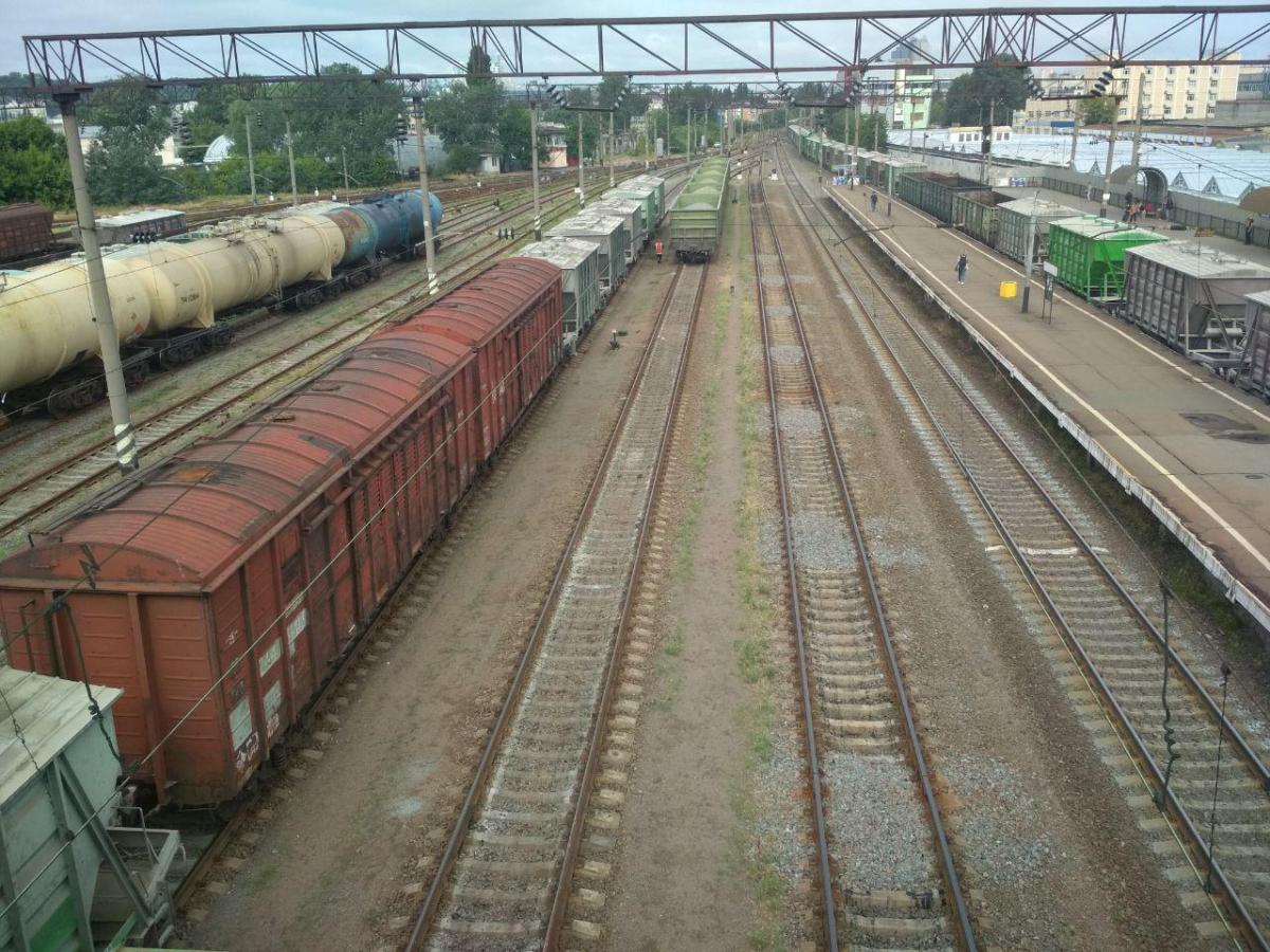 У 2020 році виробництво вантажних вагонів в Україні впало на 70% / фото УНІАН