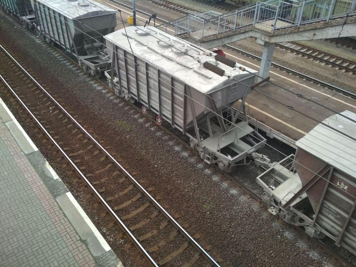 В Украине резко упали транспортные перевозки зерновых / фото УНИАН