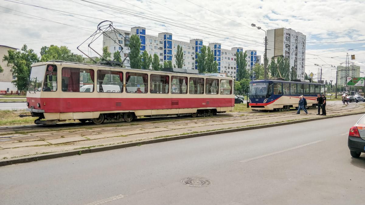 Водій марно намагався зупинити трамвай / фото: Інформатор