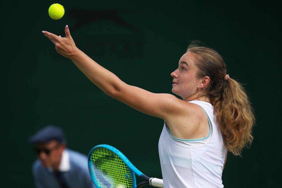 17-летняя Дарья Снигур стала пятой украинкой в финалах юниорского Уимблдона / фото: itftennis.com