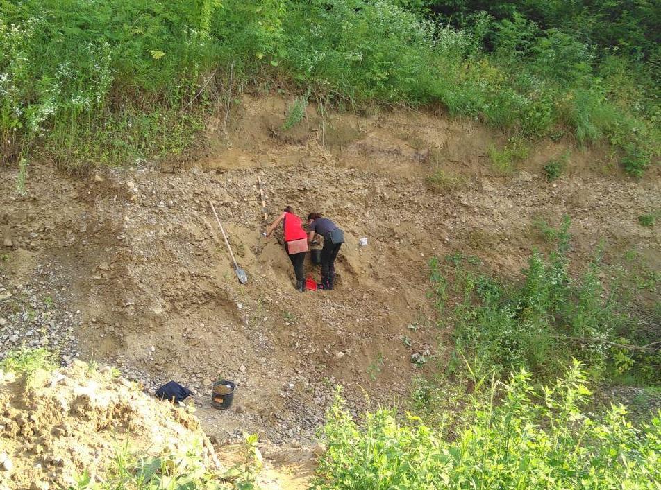 Розкопки археологів біля Дністра / фото УНІАН