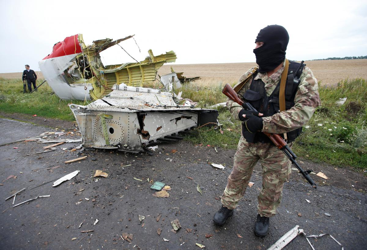 Рейс MH17 был сбит 17 июля 2014 года во время пролета над оккупированной территорией Донецкой области / фото REUTERS
