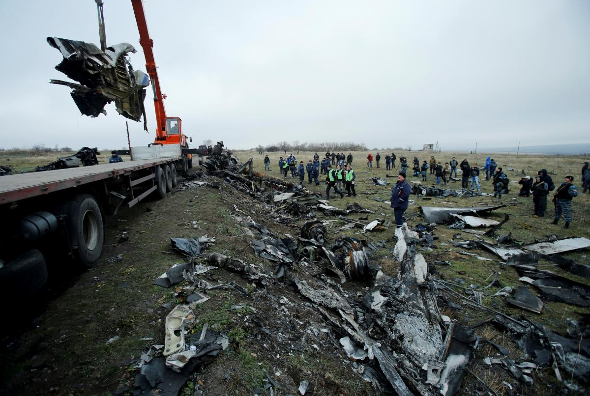 Самолет был сбит 17 июля 2014 года / фото REUTERS