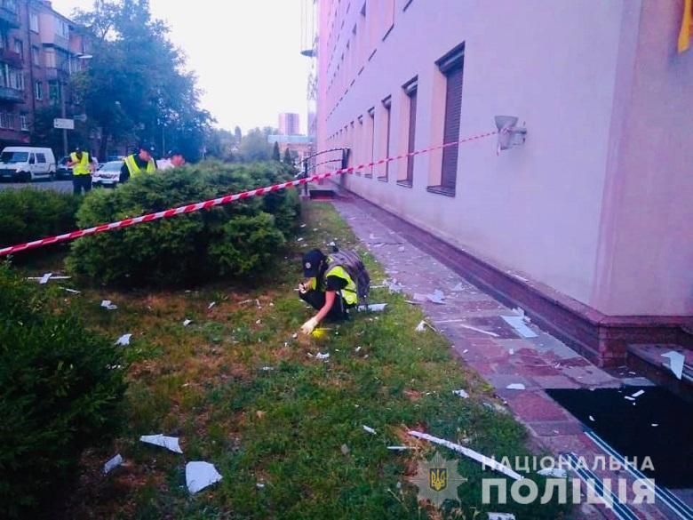 """Полиция завела дело по статье """"теракт"""" / фото: Нацполиция"""