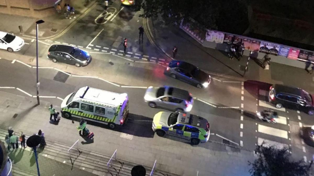 В результате наезда пострадали7 людей/ фото: Sky News