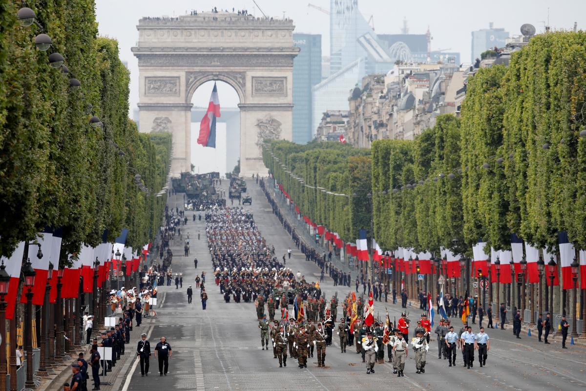 Годовщина Днявзятия Бастилии / фото REUTERS