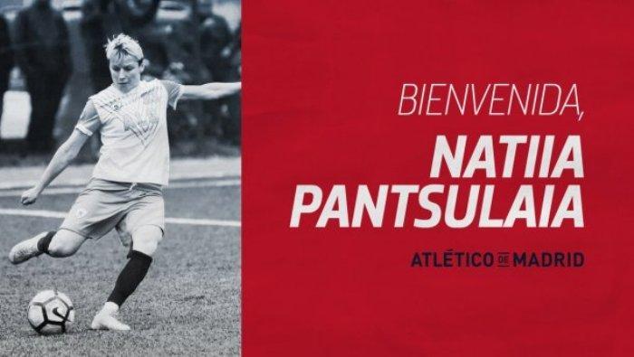 Наталья Панцулая перешла из турецкого клуба / фото: twitter.com/AtletiFemenino