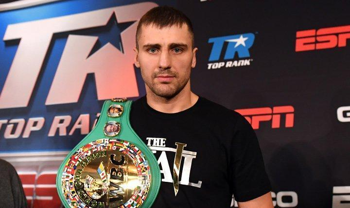 Гвоздик провел одну защиту титула / фото: boxingscene.com