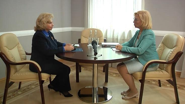 Москалькова встретилась с украинской коллегой Людмилой Денисовой / скрин видео
