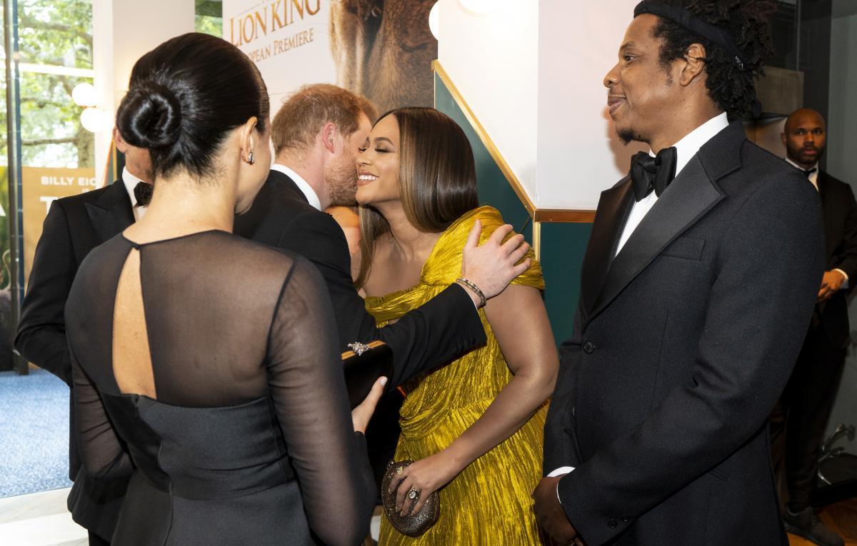 Beyonce, принц Гарри, Меган Маркл и Jay Z / REUTERS
