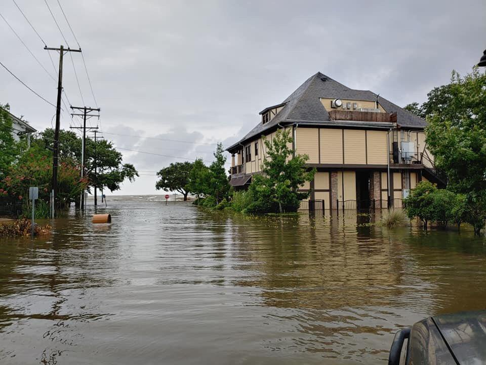 """Луизиану накрыл циклон """"Барри"""" / twitter.com/horchak77"""