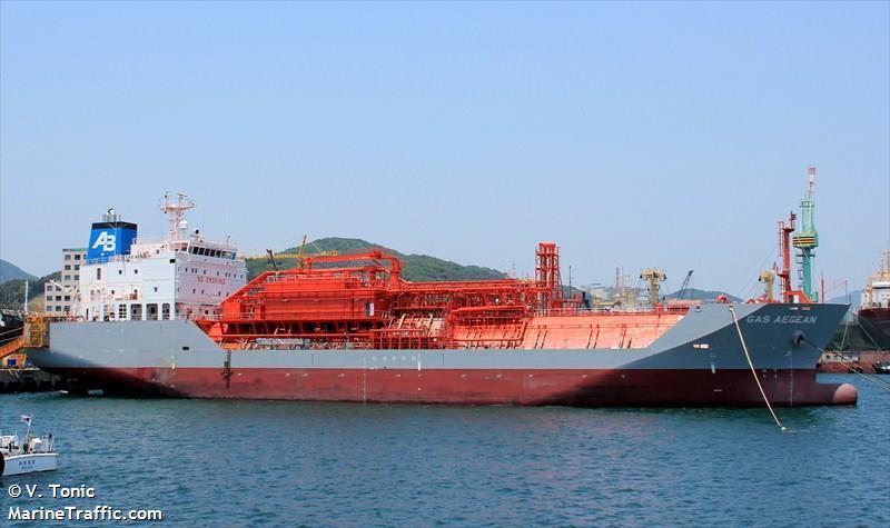 На борту ліберійського танкера знайшли мертвих українця та росіянина / V.Tonic, marinetraffic.com
