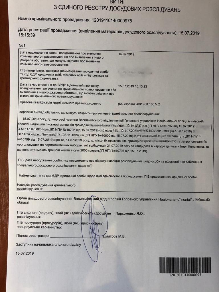 Документ УНІАН