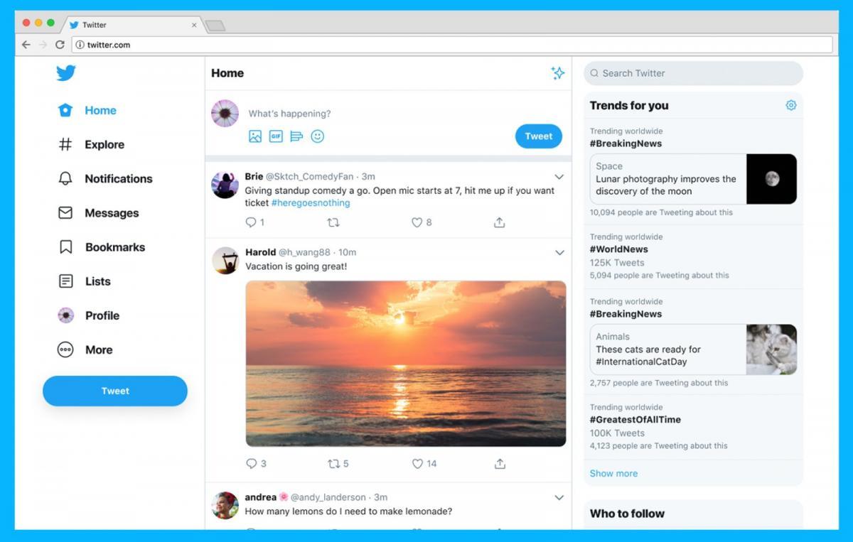 Twitter почав тестувати редизайн ще у вересні 2018 року / фото Twitter