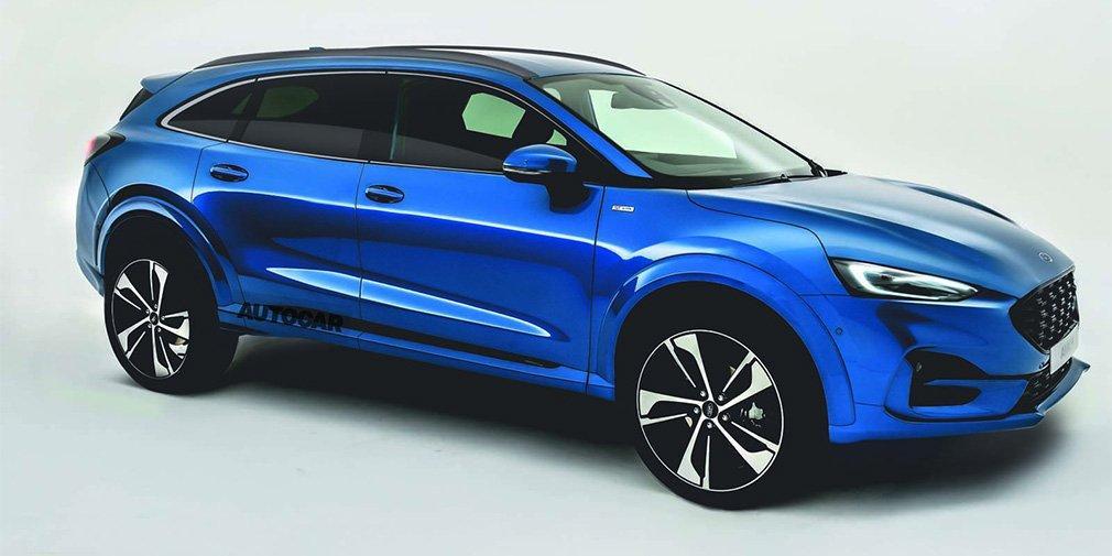 Ford заменит Mondeo, S-Max и Galaxy внедорожным универсалом / фото autocar.co.uk