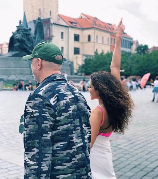 Каменских и Потап в Праге / instagram.com/kamenskux