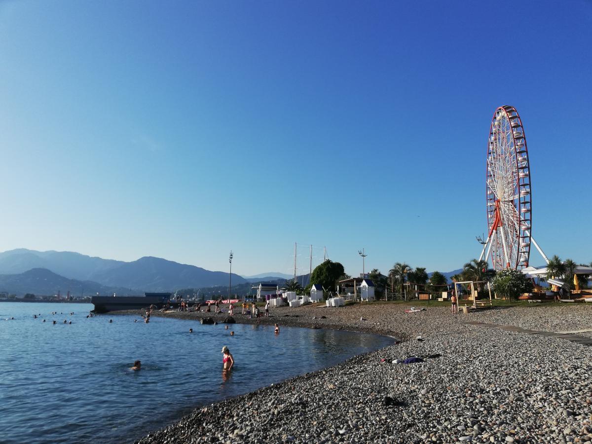 Грузия- отлично подойдет для морского отдыха / Фото Марина Григоренко