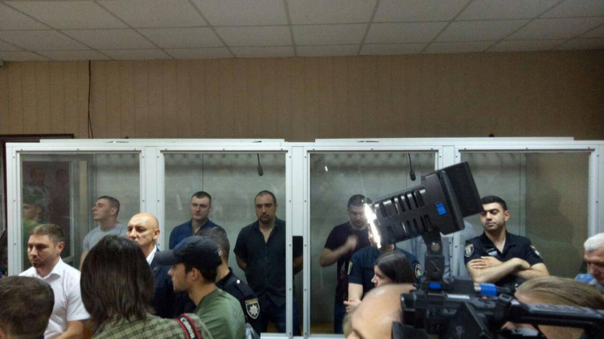 Суд отказал в смягчении экс-беркутовцаммеры пресечения / фото УНИАН