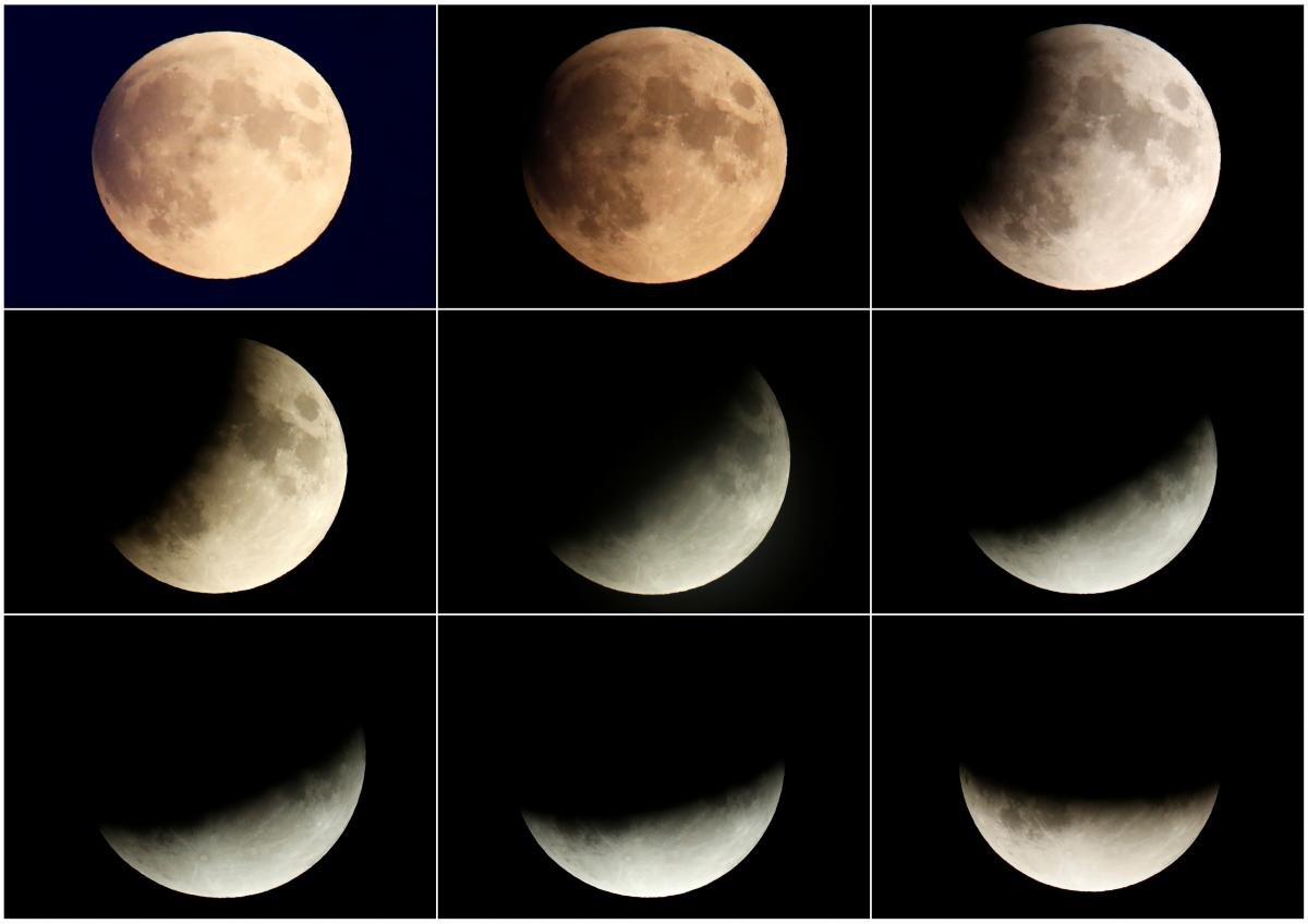 Фазы Луны в ноябре 2020 / фото REUTERS