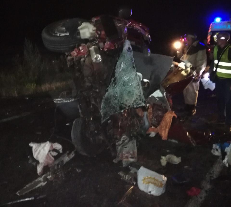В жутком ДТП на Николаевщине погиб мужчина с двумя маленькими детьми / фото ГСЧС